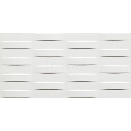 ATLAS CONCORDE 3D WALL DESIGN Grid White Glossy