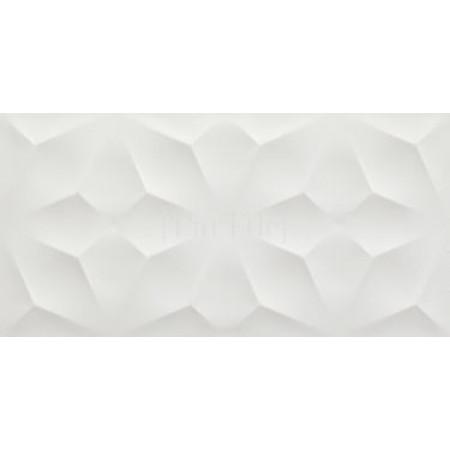 ATLAS CONCORDE 3D WALL DESIGN Diamond White Белая плитка