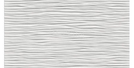 ATLAS CONCORDE 3D WALL DESIGN Wave White Glossy