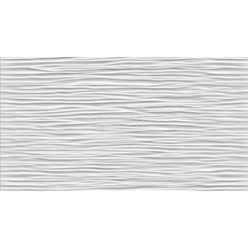 ATLAS CONCORDE 3D WALL DESIGN Wave White Белая плитка