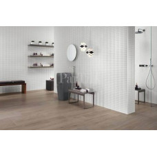 ATLAS CONCORDE 3D WALL DESIGN Solid White Белая плитка