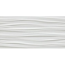 ATLAS CONCORDE 3D WALL DESIGN Ribbon White Matt