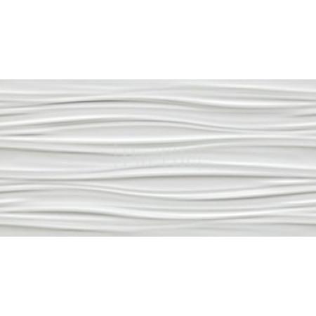 ATLAS CONCORDE 3D WALL DESIGN Ribbon White Matt