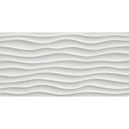 ATLAS CONCORDE 3D WALL DESIGN Dune White Белая плитка