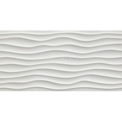 ATLAS CONCORDE 3D WALL DESIGN Dune White Белая плитка