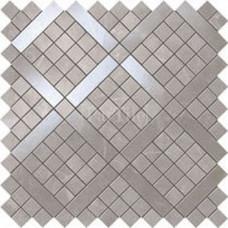 ATLAS CONCORDE Marvel Pro Grey Fleury Diagonal Mosaic