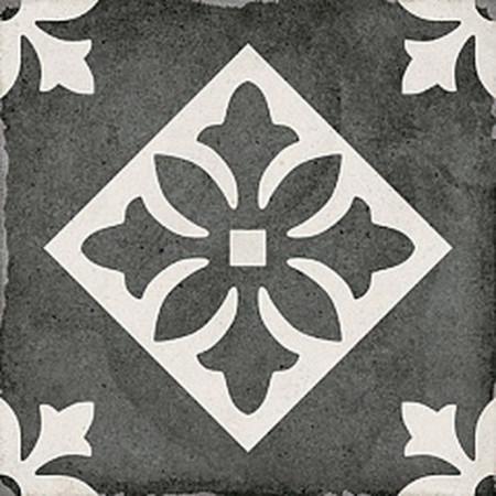 Напольная Плитка Equipe Art Nouveau Padua Black 20x20 Официальный сайт