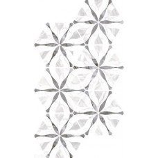 EQUIPE Bardiglio Hexagon Flower