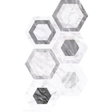 Декор EQUIPE Bardiglio Hexagon GeoОфициальный сайт