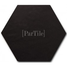 EQUIPE Scale Hexagon Porcelain Black