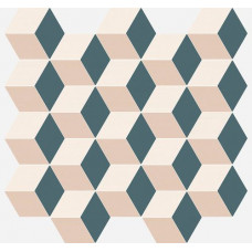 ITALON ELEMENT SILK MOSAICO CUBE COLD