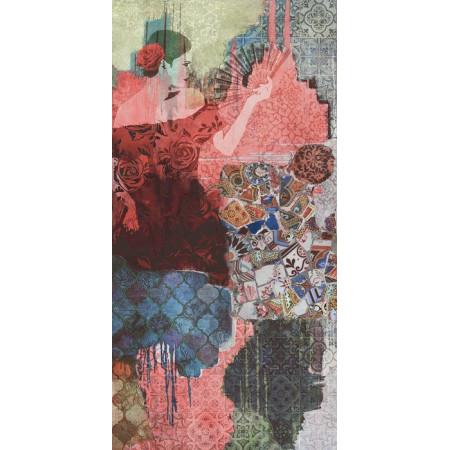 Керамогранит Керама Марацци Орнамент Испанский Пэчворк Матовый Большой 238.5x119.5