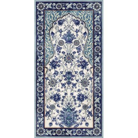 Керамогранит Керама Марацци Орнамент Синий Матовый Большой 238.5x119.5