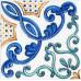 ПЛИТКА ДЛЯ ВАННОЙ KERAMA MARAZZI Декор Капри майолика 20х20 от [ParTile]