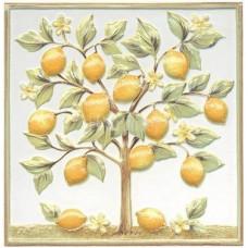 KERAMA MARAZZI Капри Декор Лимонное дерево