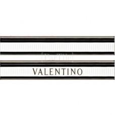 PIEMME VALENTINO Elite Bianco/Nero Listello V