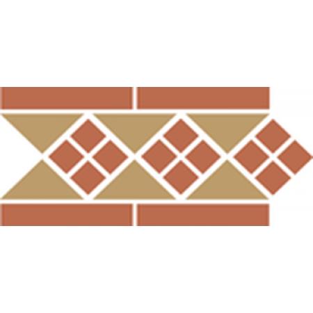 Метлахская плитка Topcer Octagon Border LISBON-2