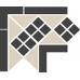 Метлахская плитка Topcer OCTAGON Corner LISBON