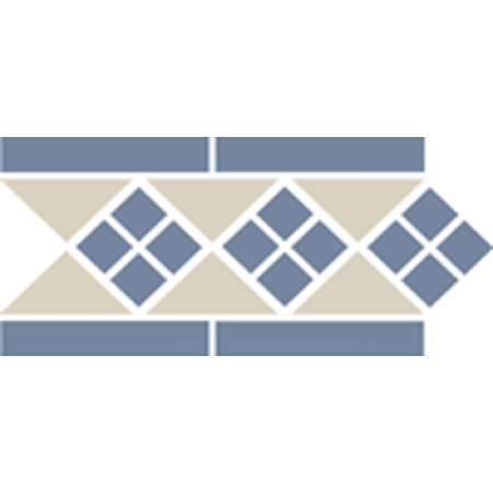 Метлахская плитка Topcer Octagon Border LISBON-1